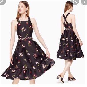 Kate Spade ♠️ Printed In Bloom Dress